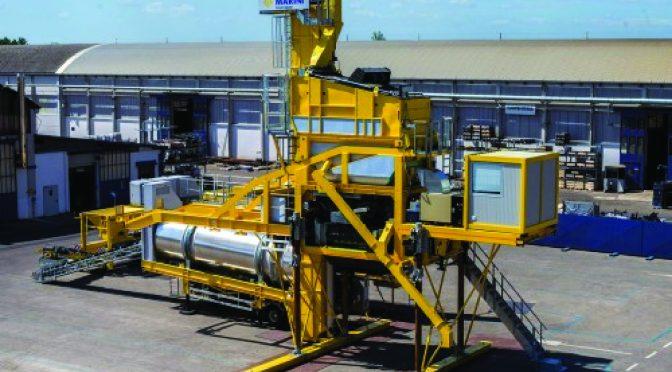 Нова асфалтна база Marini XPress 2500