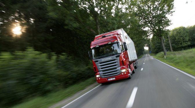 Scania серија R – видео