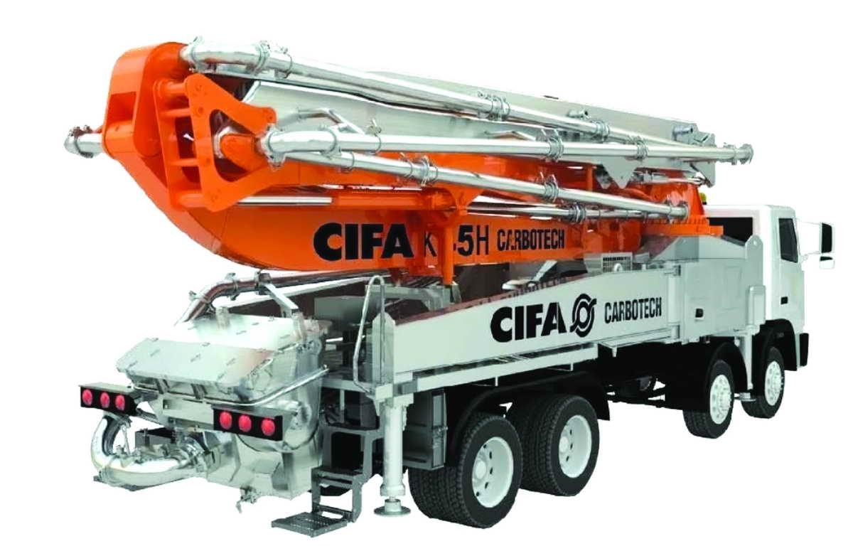 CIFA-K45H-Carbotech-Boom-Pump