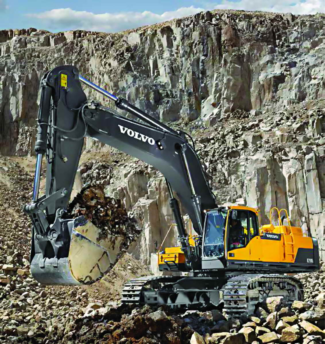 Volvo Brochure Crawler Excavator EC750D English
