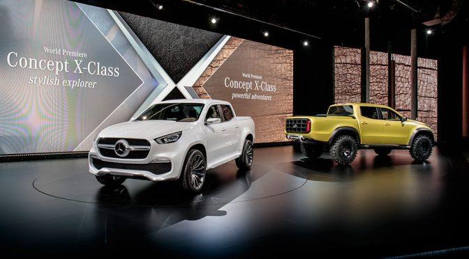 Mercedes X – фото галерија