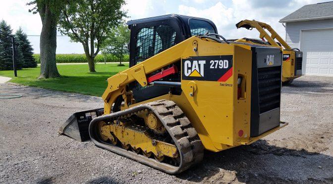 Caterpillar 279D – Компактен повеќетеренски натоварувач