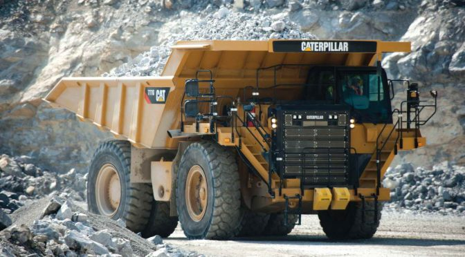 Caterpillar Dump Truck 777G
