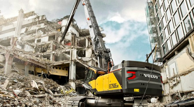 Volvo EC750E HR Demolition