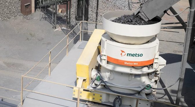 Metso MX4 Multi-Action Cone Crusher