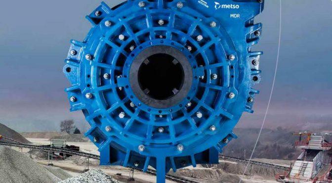 Metso MD серија повеќенаменски процесни пумпи за хидромешавина