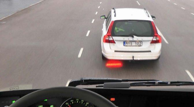 Volvo Trucks Emergency Brake