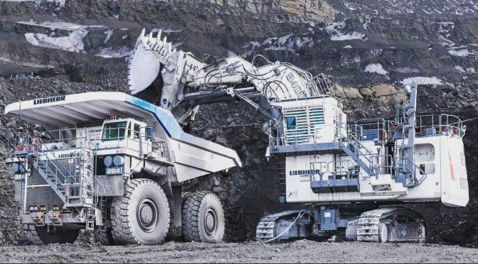 Liebherr R9400 – Рударски багер