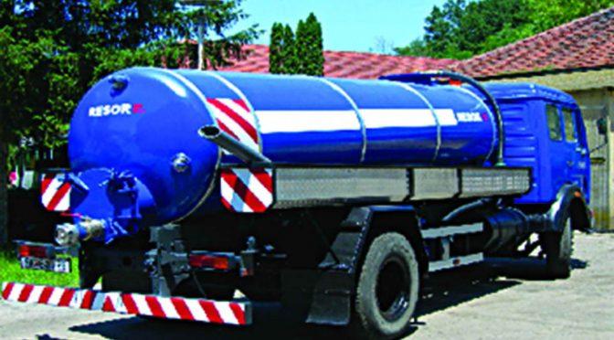 RESOR – цистерна за питка вода