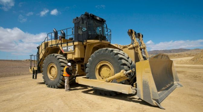 Caterpillar 844K – Булдожер на тркала