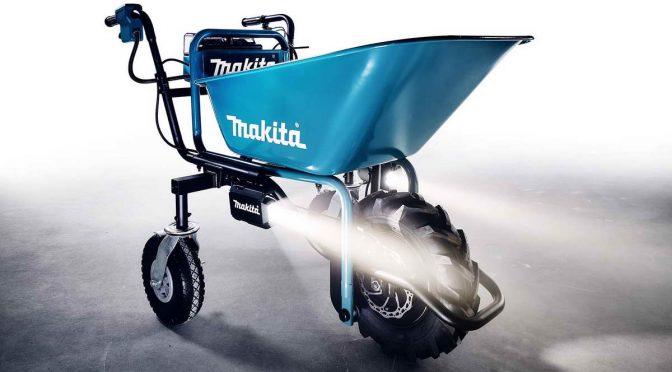 Makita DCU180 – моторизирана рачна количка