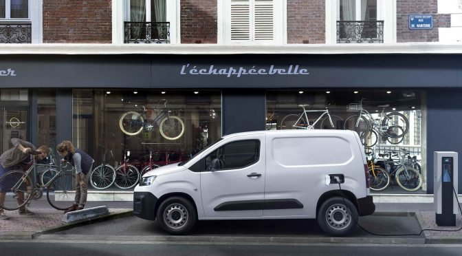 Citroen го претставува e-Berlingo Van