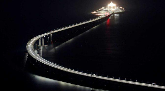Најдолгиот поморски мост во светот (видео)