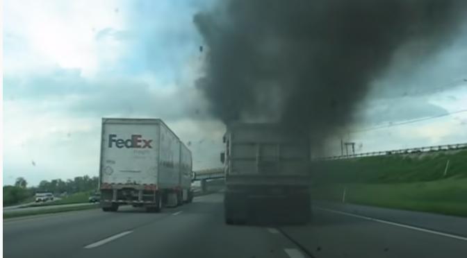 Камион ли е, или термо-централа? (видео)